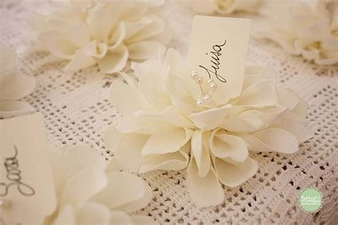 fiori segnaposto matrimonio segnaposto matrimonio shabby chic ecco i pi 249 originali