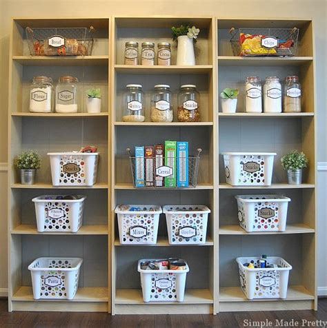 Pantry Items To On by How To Organize And Simplify Your Kitchen Pantry Simple