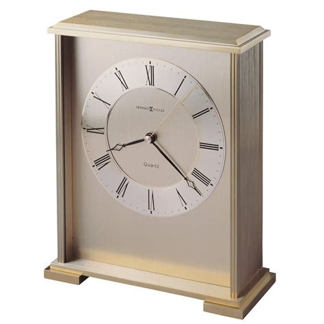 howard miller table clock howard miller exton mechanical table clock 645569