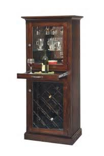 Maple Bathroom Cabinets Custom Amish Wooden Wine Tower