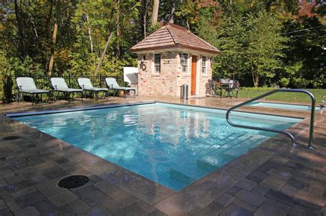 square swimming pool square shaped pool spa traditional pool chicago by rosebrook pools inc