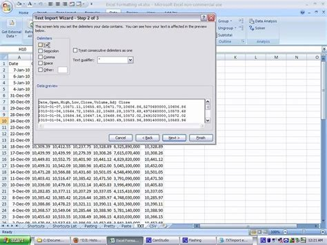 format csv in excel 2010 convert txt to csv excel 2010 txt to csv youtubecara
