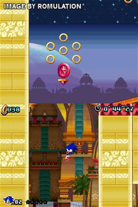 sonic colors usa nds nintendo ds rom romulation