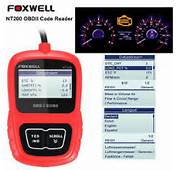 Foxwell NT200 Engine Diagnostic CAN OBDII/EOBD Code Reader Scan Tool