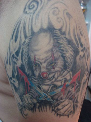 payaso tattoo designs 29 best shizz images on ideas