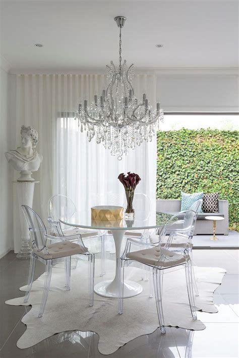 Dining Table With Ghost Chairs 17 Best Ideas About Ghost Chairs On Ghost Chairs Dining Acrylic Chair And Clear Chairs