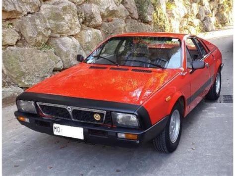 Lancia Beta Montecarlo For Sale 1975 Lancia Beta Montecarlo Coupe For Sale