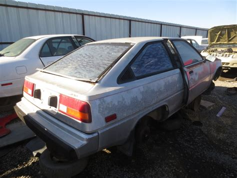 1983 mitsubishi cordia junkyard find 1983 mitsubishi cordia the truth about cars