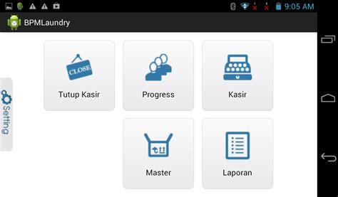 membuat aplikasi android berbasis client server aplikasi android untuk usaha laundry