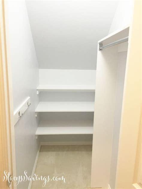 Stairs Closet Organizer by 25 Best Closet Stairs Ideas On