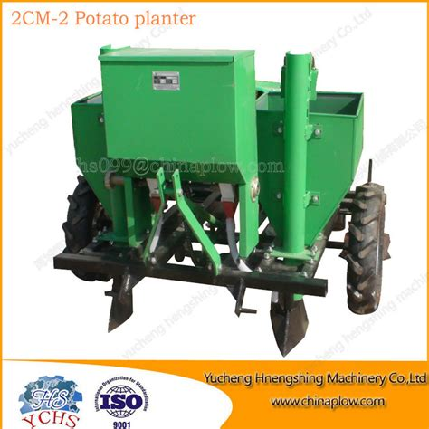 agricultural machine tractor potato planter with high