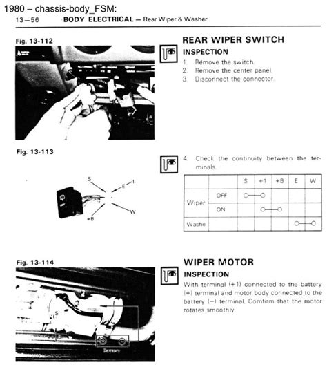 repair guides windshield wipers front windshield 1983 fj60 rear wiper motor wire color codes ih8mud forum