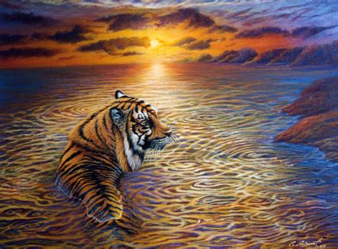 tiger paint my painting my painting tiger paintings