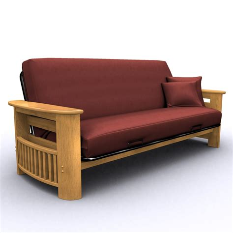 Futons At Furniture by American Furniture Alliance Portofino Size Futon