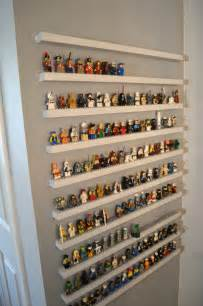 jedi craft diy lego minifigure storage shelves tutorial