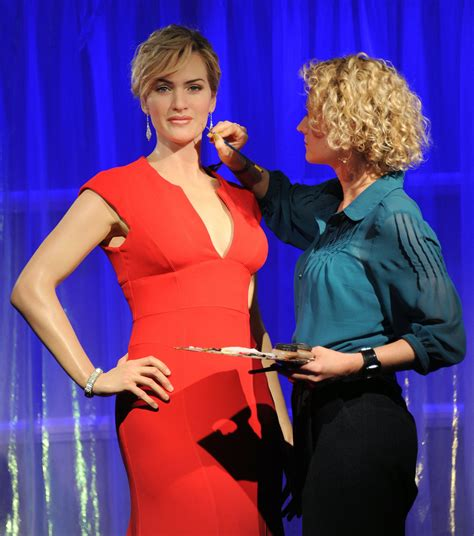 Wax Kate Unveiled by Kate Winslet Photos Photos Kate Winslet Wax Figure