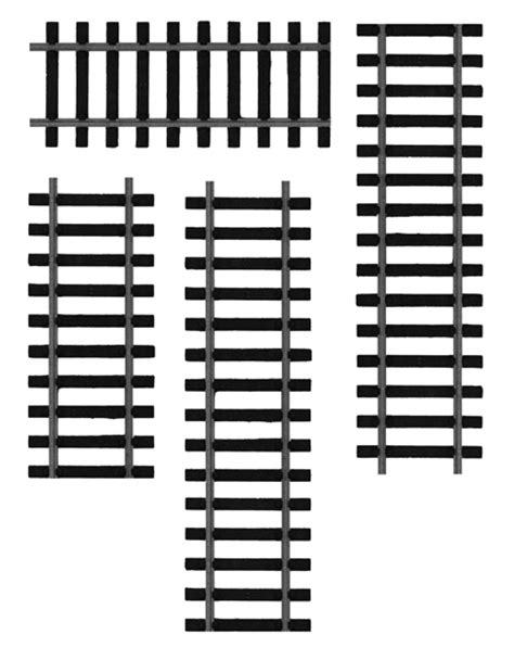 free high res photoshop brushes train tracks