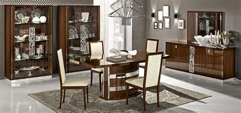 roma dining walnut italy modern formal dining sets roma dining walnut italy modern formal dining sets