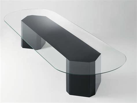 tavolo cristallo ovale tavolo ovale in cristallo akim tavolo ovale gallotti