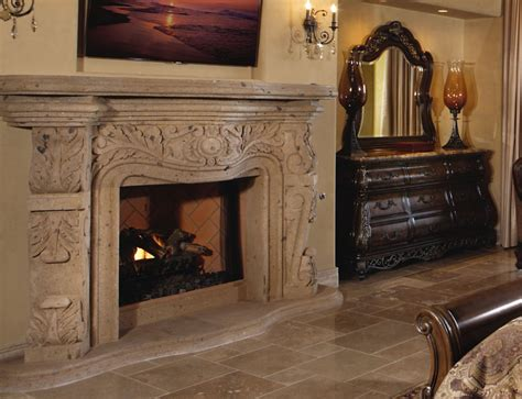 Fireplace Mantels Az by Cantera Fireplaces Mesa Az Fireplaces