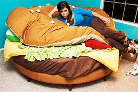 hamburger bed delicious sleep the hamburger bed