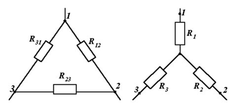 resistors triangle circuits solving problems in electrical engineering equivalent transformation of resistances wye