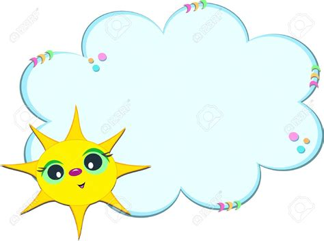 clipart photo clouds clipart frame pencil and in color clouds clipart