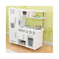 kidkraft kitchen play set for toddler retro food cooking fridge stove ebay