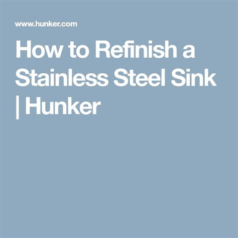 refinish stainless steel sink best 25 stainless steel sinks ideas on