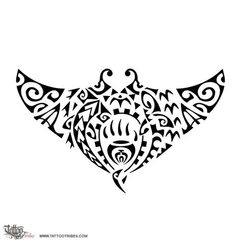 tribal tattoos meaning fearless mātātoa fearless the manta symbolizes freedom and