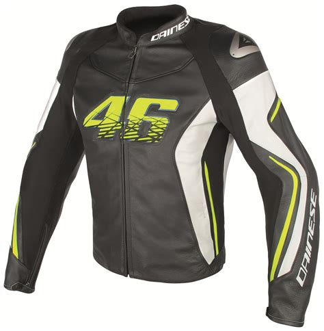 dainese vr46 d2 leather jacket revzilla