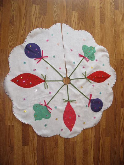 Handmade Tree Skirt - 17 best images about vintage x tree skirts on