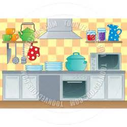 Kitchen Cartoon by Cartoon Kitchen Theme Image By Clairev Toon Vectors Eps