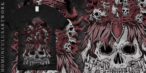 Tshirt Kaos Nobody Is cursed crown t shirt design by homunculus artwork mintees