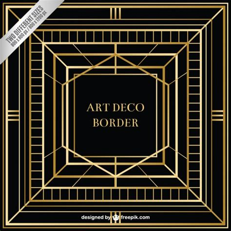 printable art deco abstract art deco background vector free download