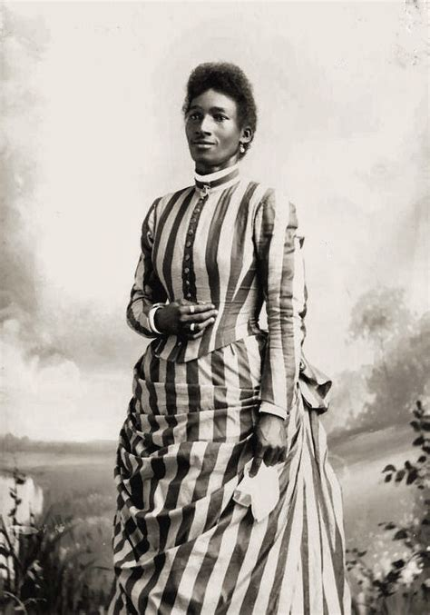 4 photo prints african american women victorian dress