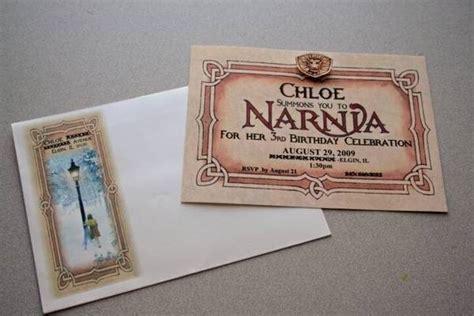 Narnia Birthday Card