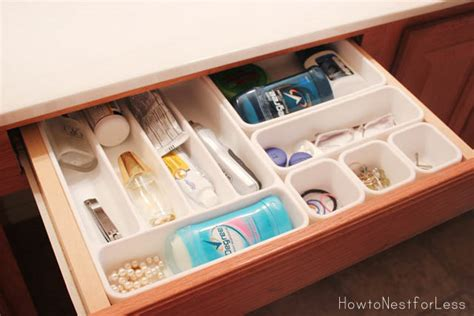 how to organize bathroom vanity bathroom vanity organization how to nest for less