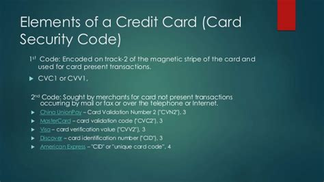 Sle Credit Card Security Code your credit cards