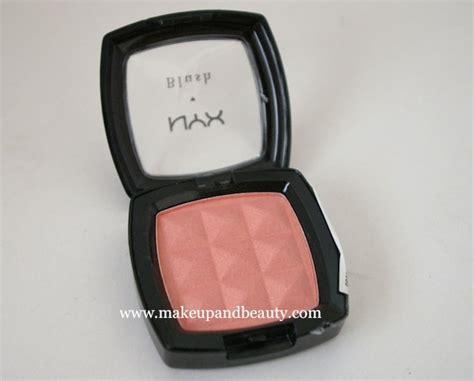 Nyx Powder Blush nyx powder blush pinched review swatch indian makeup