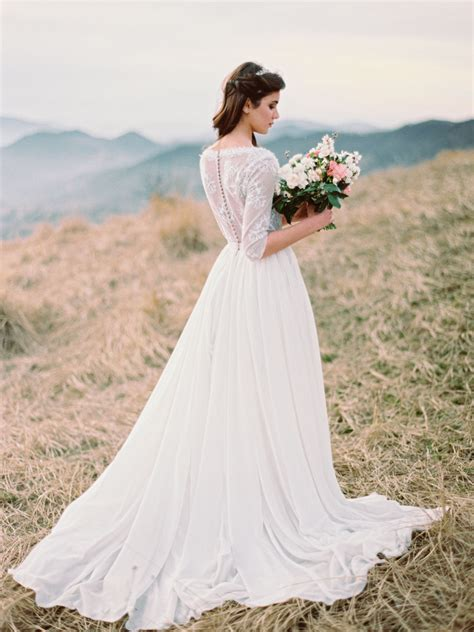 Wedding Dress Etsy by Ethereal Wedding Dresses From Etsy Southbound