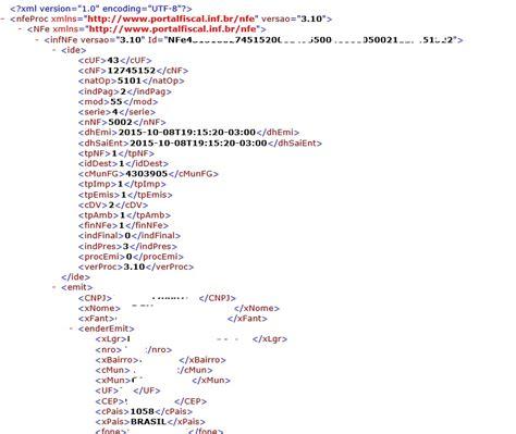 layout xml consulta nfe xml nota eletr 244 nica exemplo