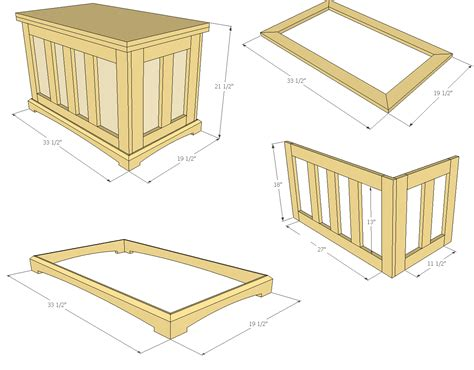 Quilt Chest Plans by How To Build A Pocket Blanket Chest Jays Custom