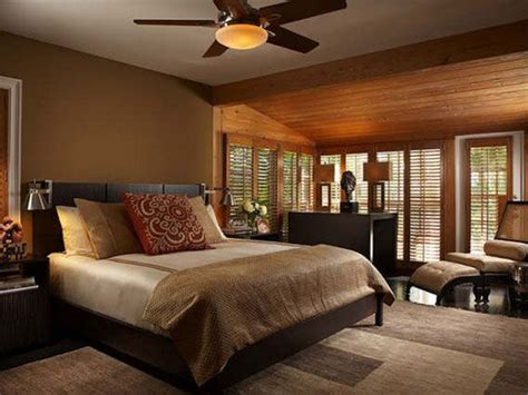 warm bedroom home decor ideas