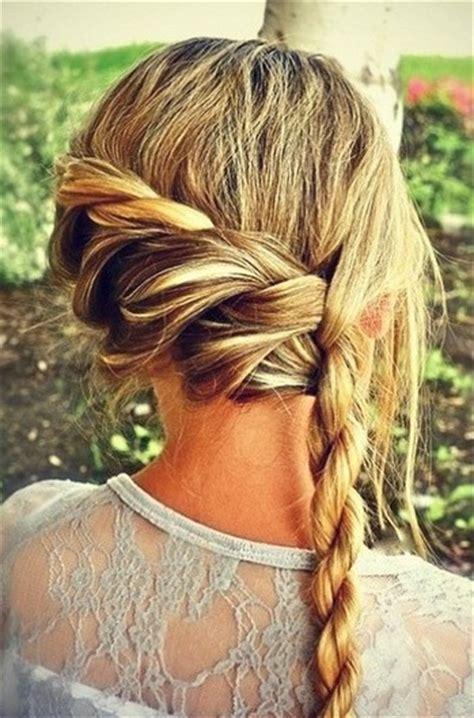 rope braid hairstyles for long hair 5 glowing rope braid hairstyles pretty designs