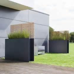 terrassen sichtschutz modern nowaday garden