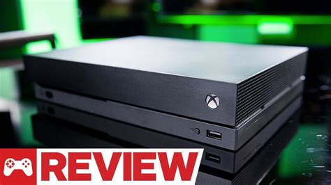 one review xbox one x review