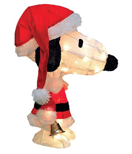 snoopy lights outdoor peanuts outdoor decorations
