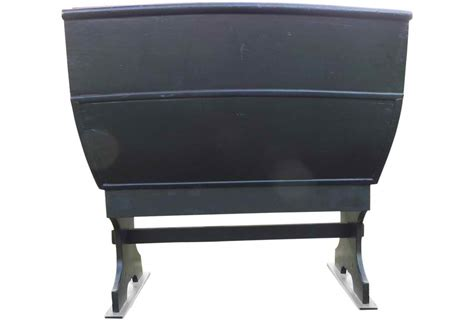 Vintage Sleigh Seat Bench Omero Home