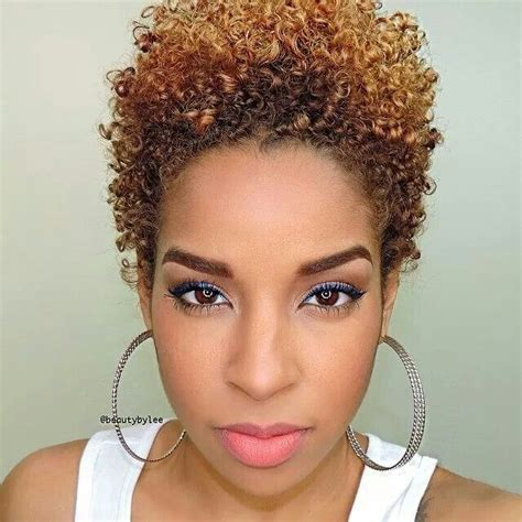 google african short hairstyles and curly natural hairstyles for short hair with a tight curl